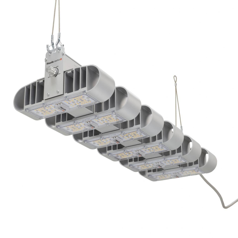 Shuttle 6 dimbare LED (240 Watt)
